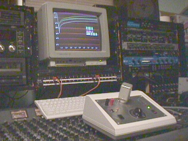 T4 Tester setup as it looked in 1997